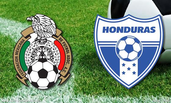 Horario y canal de televisión del Honduras Vs México