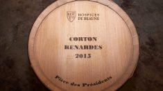 Cordon Renardes Grand Cru de 2015. (Foto: Hospicio de Baune para Christies)