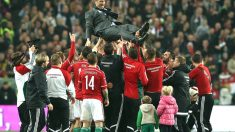 Hungría celebra su vuelta a la Eurocopa (Foto: AFP)