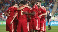 Iñaki Williams marcó con la selección de España Sub 21. (Foto: sefutbol.com / Eidan Rubio)