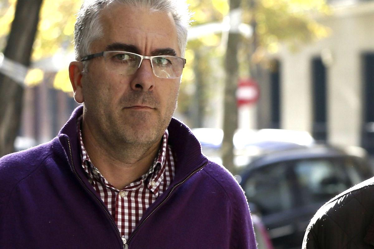 Ignacio Palacios a la salida del juzgado (Foto: Efe)
