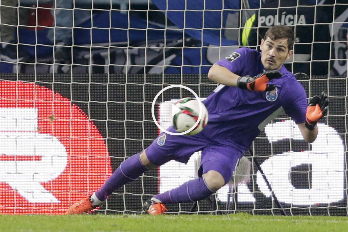 Iker Casillas salvó al Oporto (Reuters)