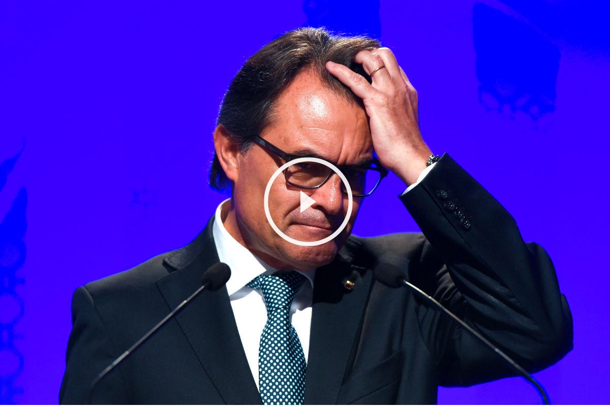 Artur Mas, presidente en funciones de la Generalitat