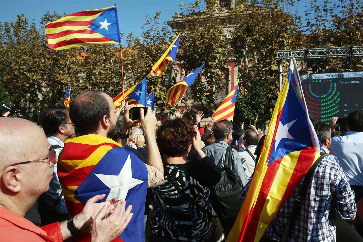 Partidarios de la independencia (Foto: EFE)