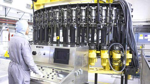 Interior de la central nuclear de Garoña (Foto: Nuclenor).