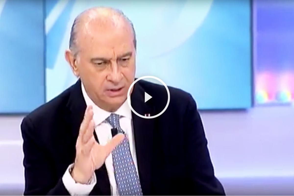 Jorge Fernández Díaz, ministro del Interior, en Telecinco.