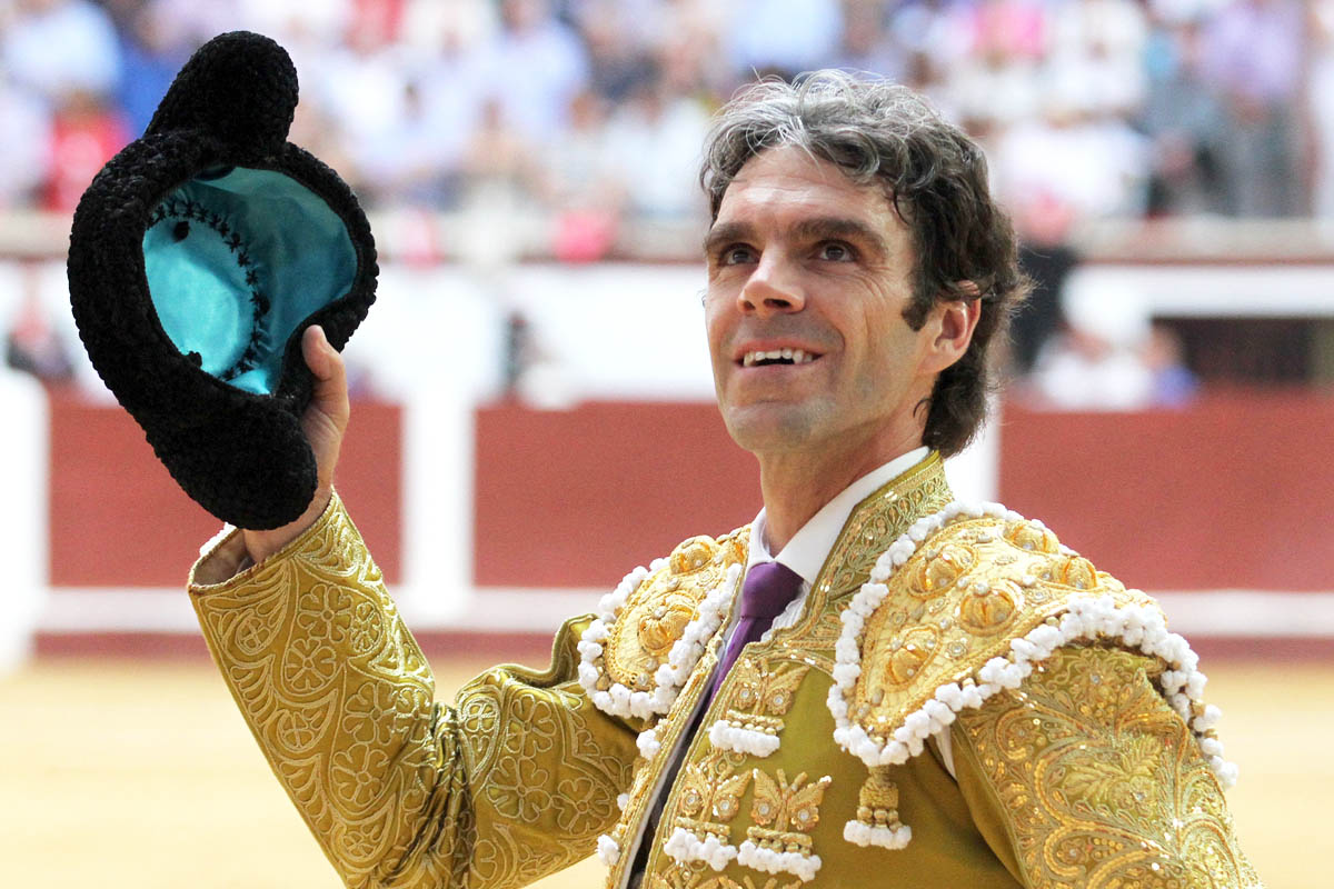 José Tomás en una imagen de 2014 (Foto: AFP).