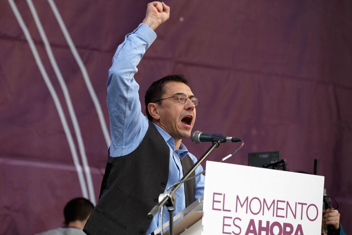 El cofundador de Podemos, Juan Carlos Monedero (Foto: Getty)