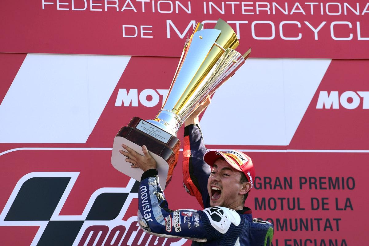 Jorge Lorenzo, campeón del mundo de Moto GP (Foto: AFP)