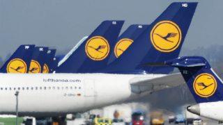 Varios aviones de Lufthansa en el aeropuerto de Munich. (Foto: AFP)