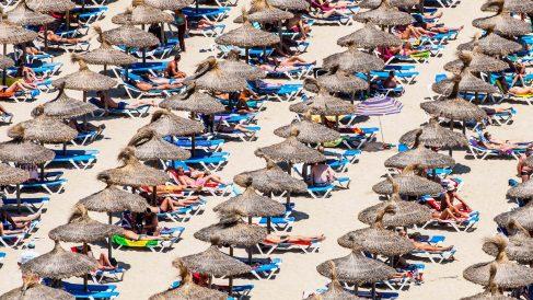 Playa de Magaluf, Mallorca. (Foto: AFP)