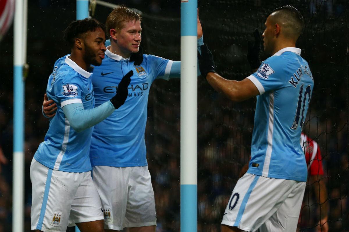 El Manchester City ganó al Southampton (Getty)