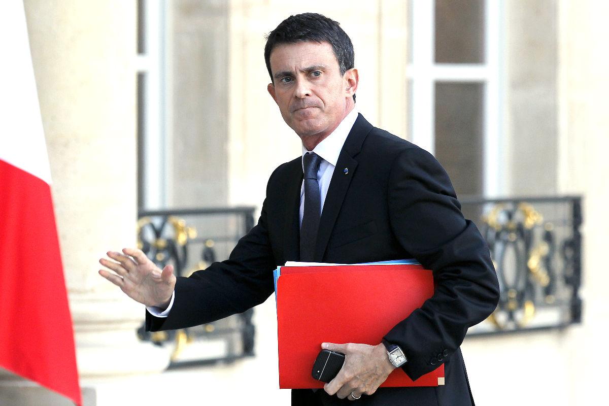 El ex primer ministro de Francia, Manuel Valls (Foto: Getty)