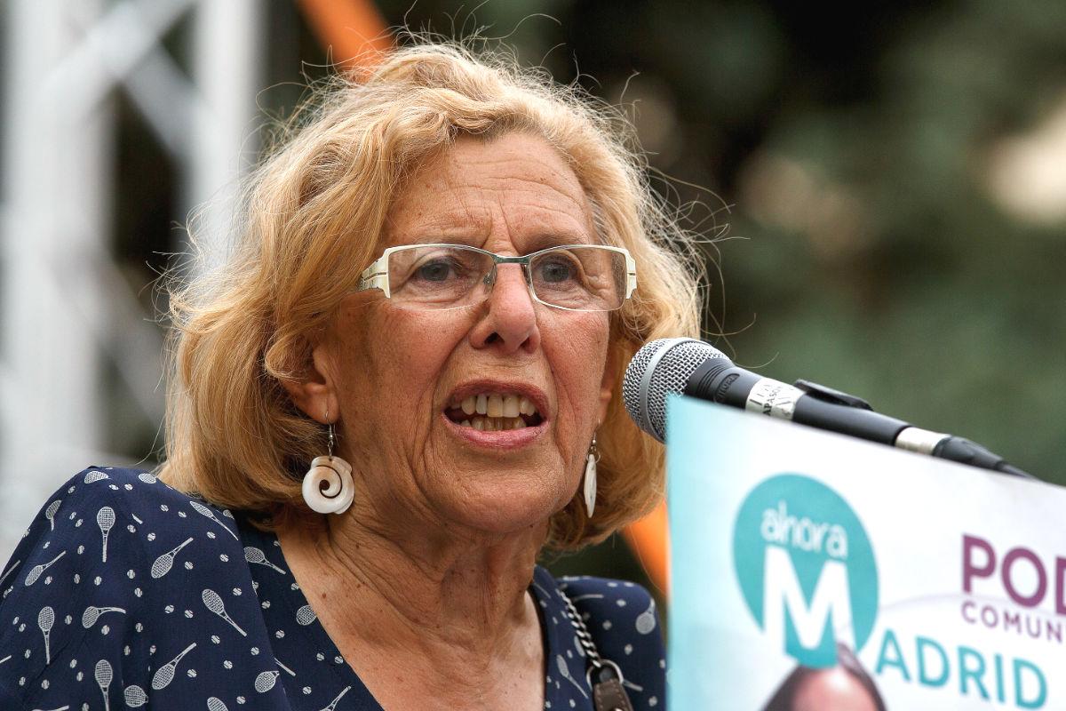 La alcaldesa de Madrid, Manuela Carmena (Foto: Getty)