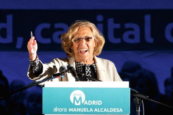 Manuela Carmena-Ahora Madrid-PP-Ciudadanos