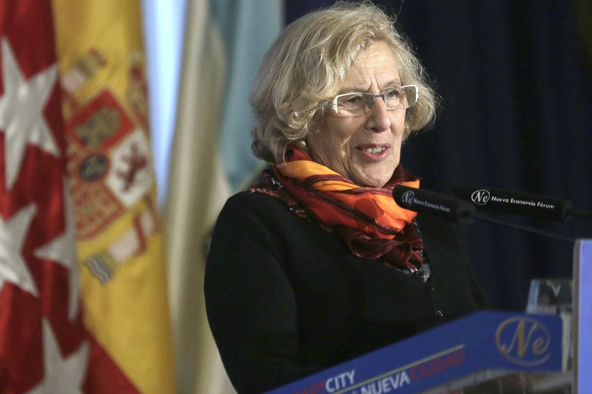 La alcaldesa de Madrid, Manuela Carmena (Foto: Efe)