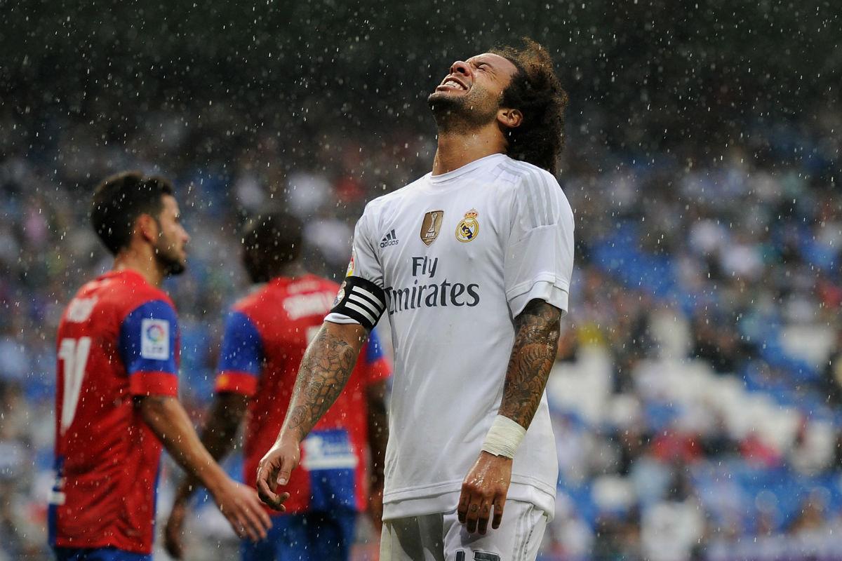 Marcelo y Sergio Ramos son bajas ante el Shakhtar (Getty)