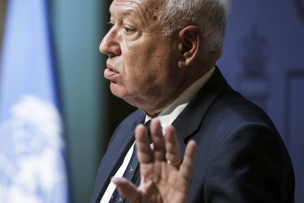 José Manuel García Margallo. (Foto: EFE)