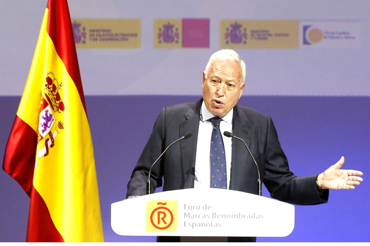 José Manuel García-Margallo, en una reciente imagen (Foto: Efe).