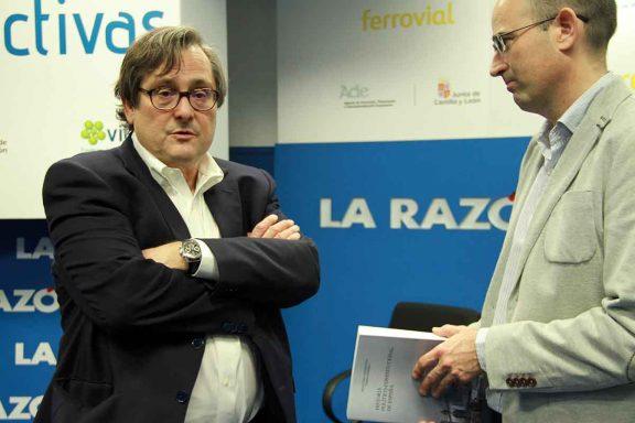 Francisco Marhuenda conversa con Okdiario