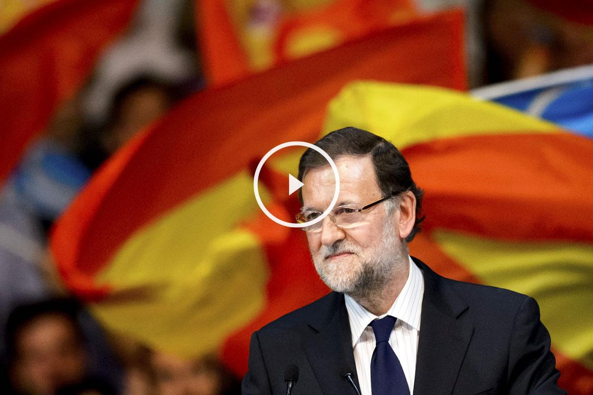 Mariano Rajoy, presidente del Gobierno. (Foto: AFP)