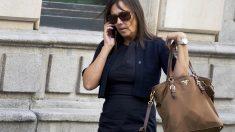 La ex mujer de Jordi Pujol Jr. camino del juzgado. (Foto: Getty)