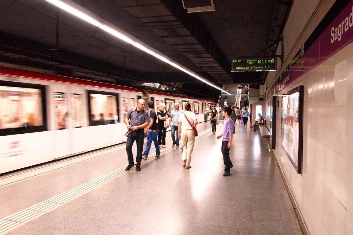 Metro de Barcelona (Foto: DDohler, con licencia CC BY 2.0)