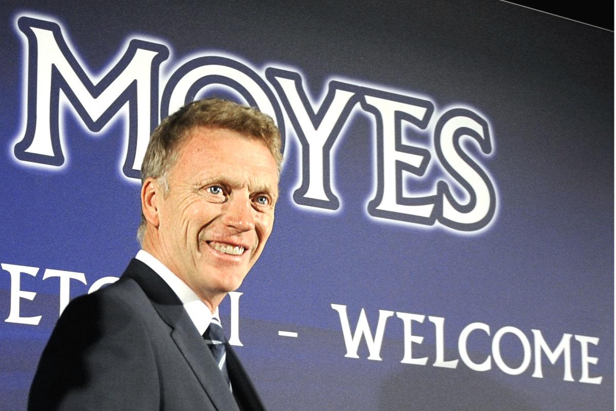 David Moyes, el día de su presentación como técnico de la Real Sociedad. (AFP)