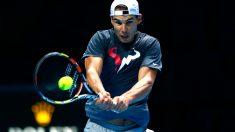 Nadal se prepara para enfrentarse a Wawrinka en su debut (Foto: Getty)