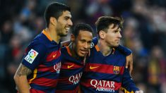 Neymar confirma que la MSN y el vestuario del Barcelona hablan en castellano. (Getty)