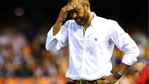 Nuno Espírito Santo, durante un partido con el Valencia (Getty)