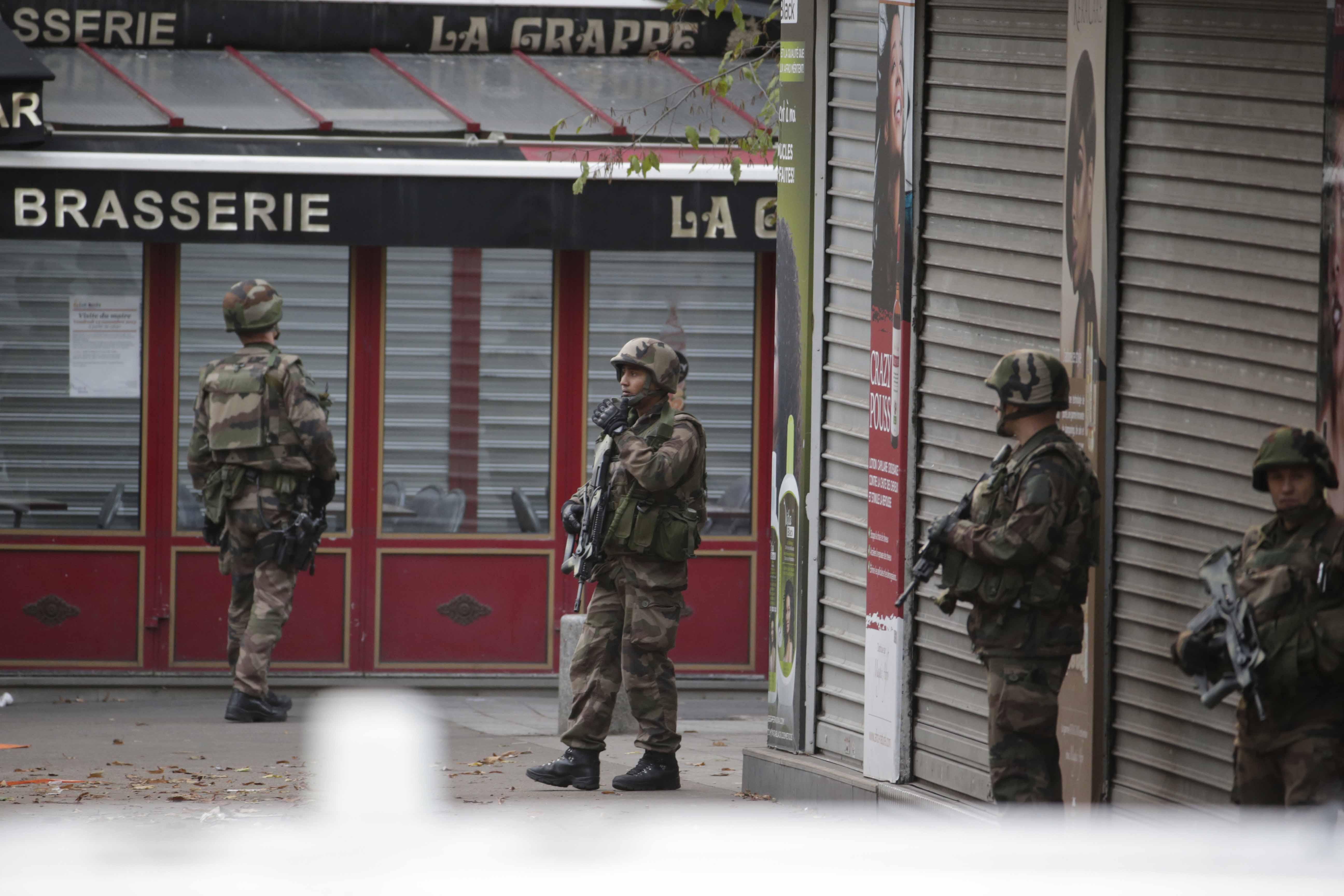 Foto de archivo de una redada antiterrorista en París. (Foto: AFP)