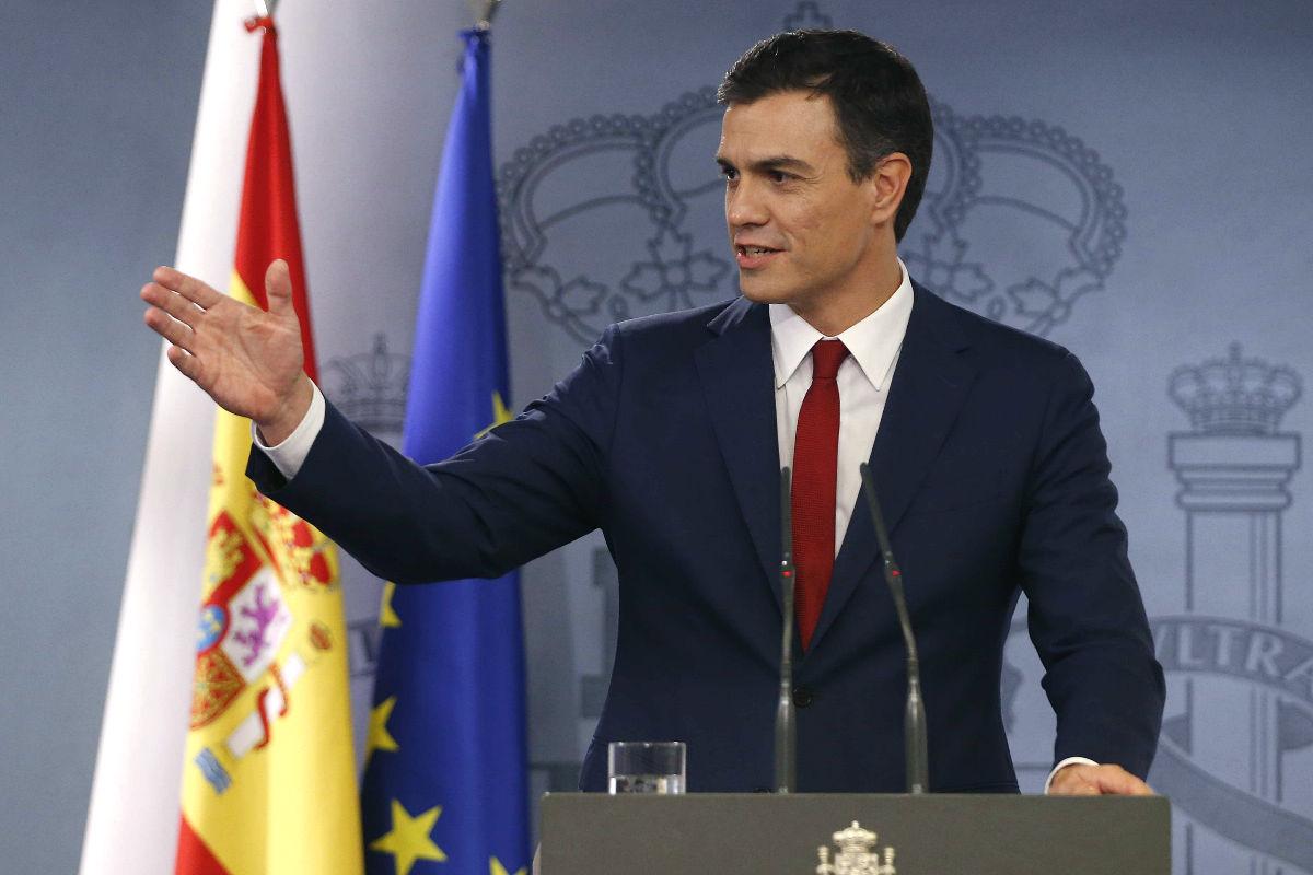 El líder del PSOE, Pedro Sánchez (Foto: EFE)