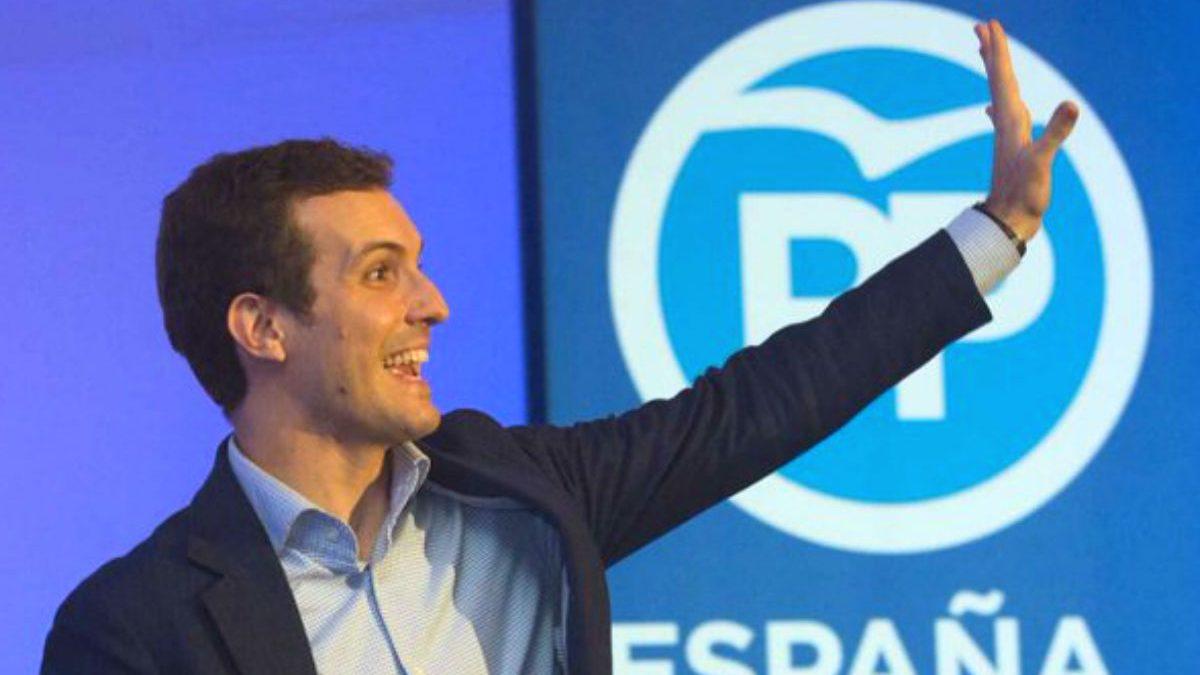 El vicesecretario de Comunicación del PP, Pablo Casado (Foto: Twitter)