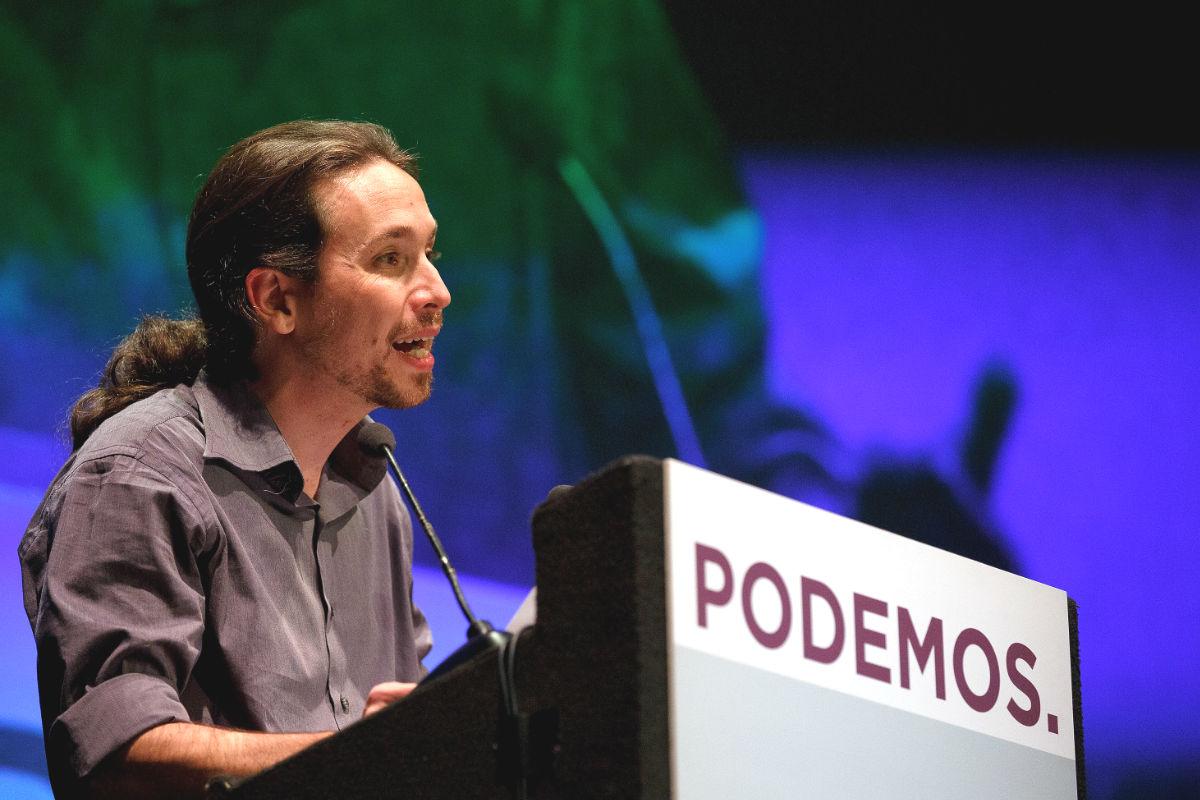 El secretario general de Podemos, Pablo Iglesias (Foto: Getty)