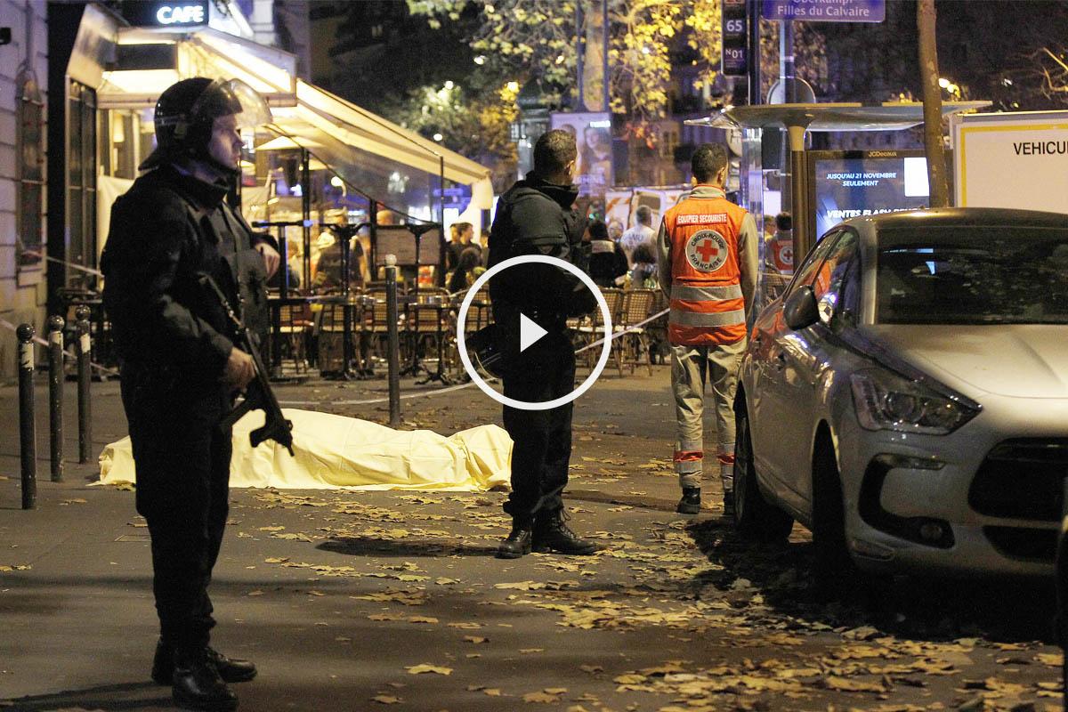 Terror en la noche del 13N en París. (Foto: Getty)