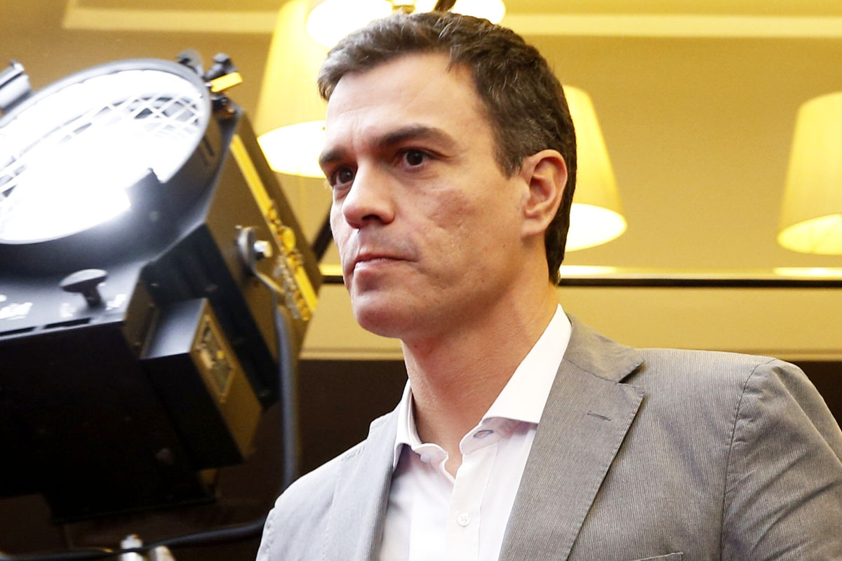 Pedro Sánchez, secretario general del PSOE. (Foto: Efe)