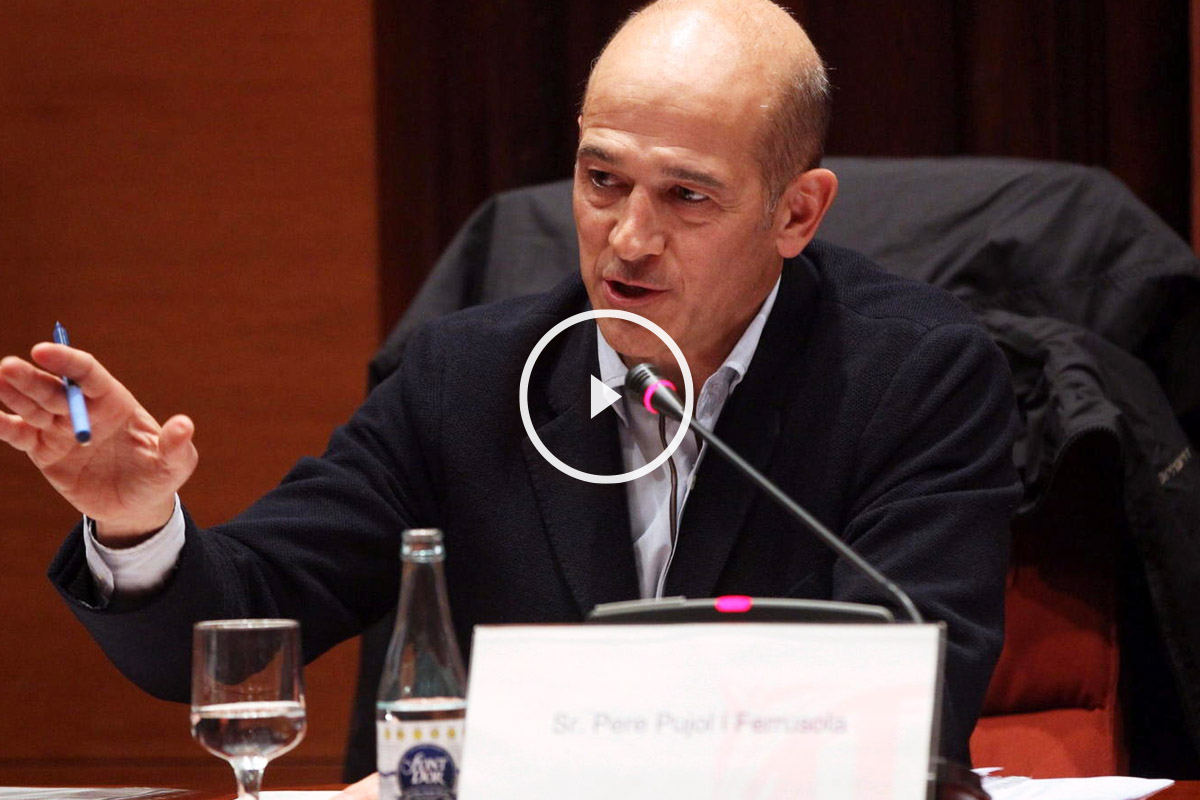 Pere Pujol Ferrusola. (Foto: EFE)