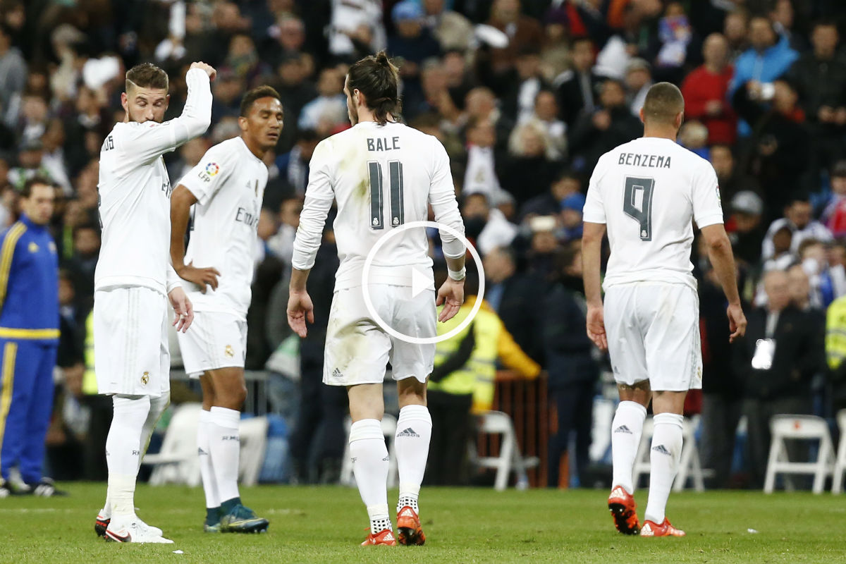 La plantilla del Real Madrid pide perdón (Reuters)