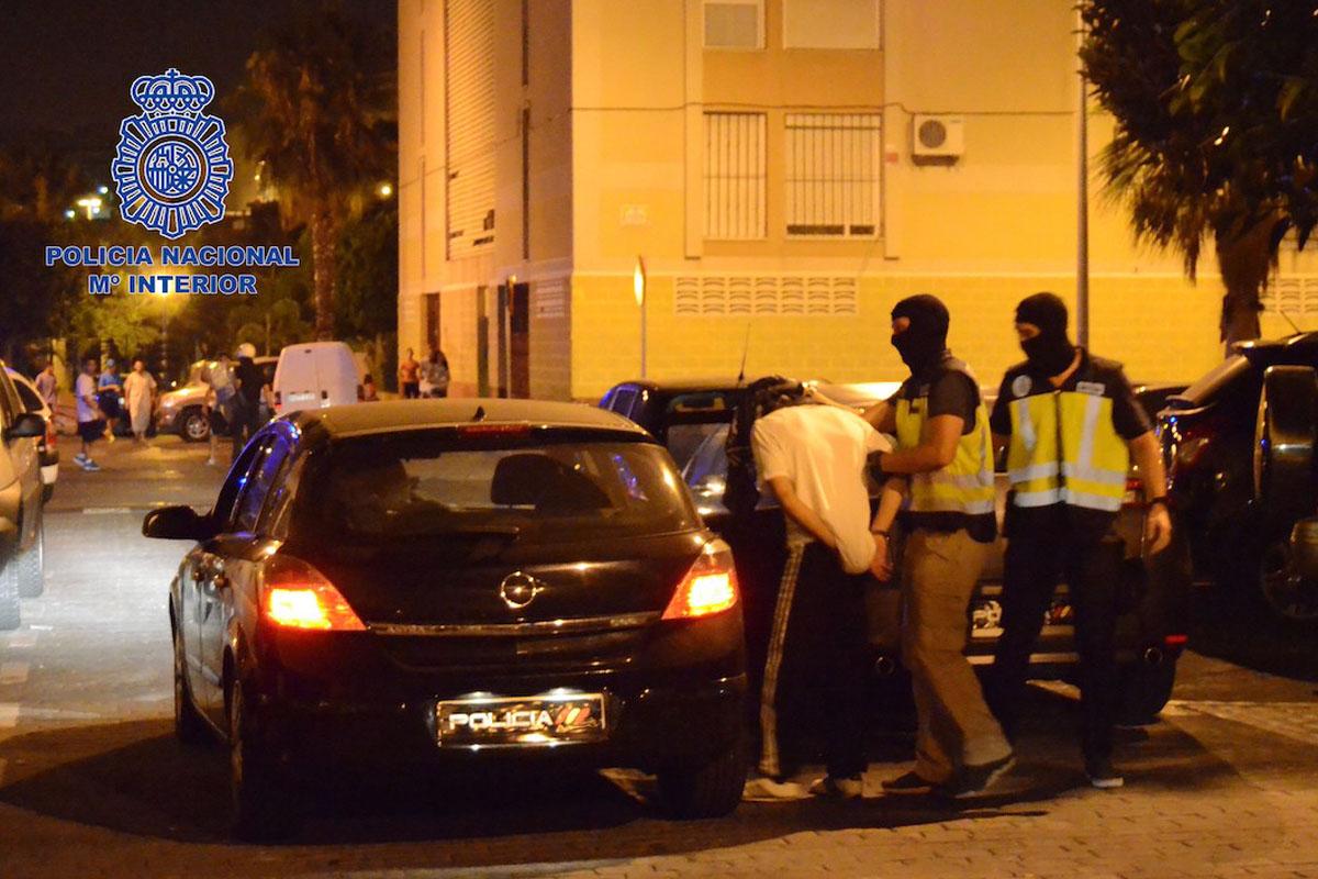 Imagen de archivo de una detención de integrantes del Estado Islámico en España. (Foto: Ministerio del Interior)