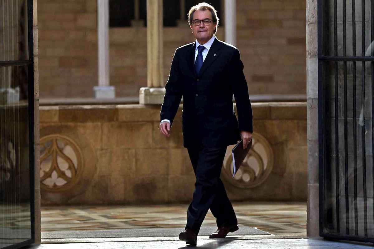 Artur Mas en una reciente imagen (Foto: Efe)