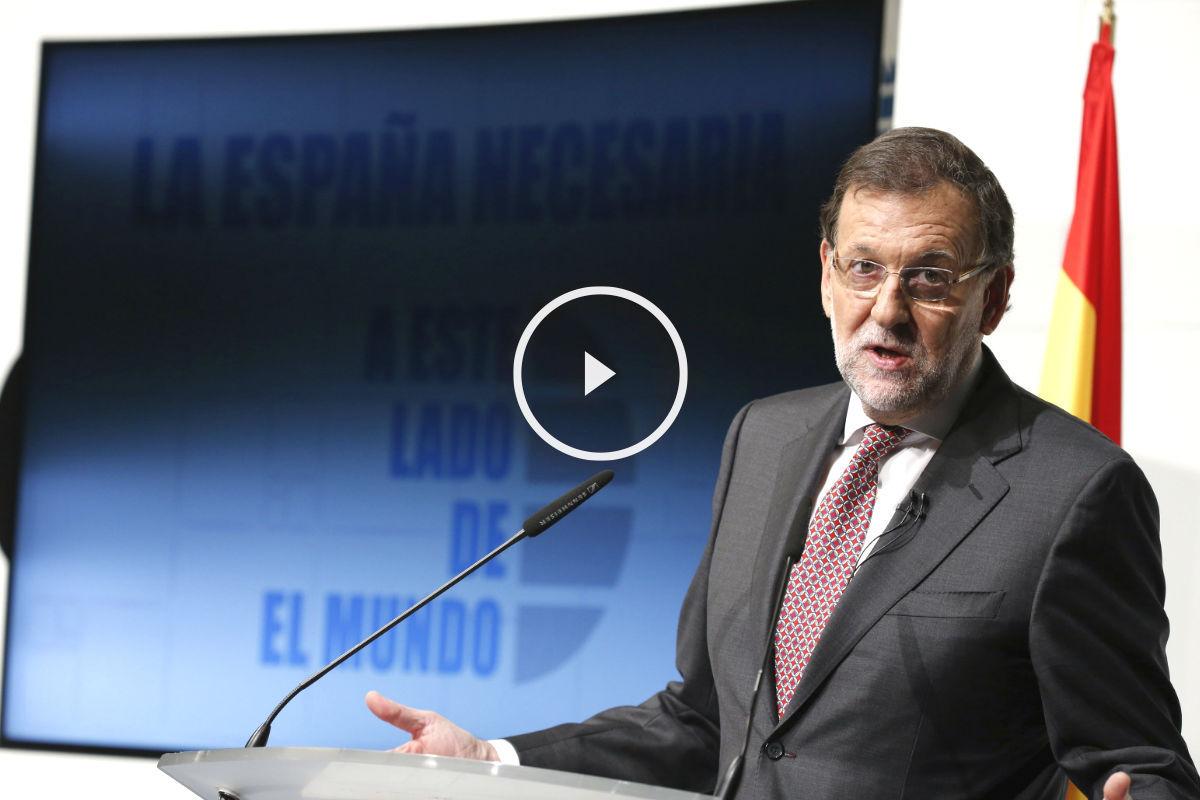 Mariano Rajoy en el Foro de El Mundo. (Foto: EFE)
