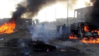 Imagen tras un bombardeo en Raqqa en noviembre de 2014. (Foto: AFP)