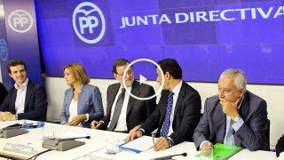 Reunión de la Junta Directiva Nacional del Partido Popular en Génova 13. (Foto:EFE)