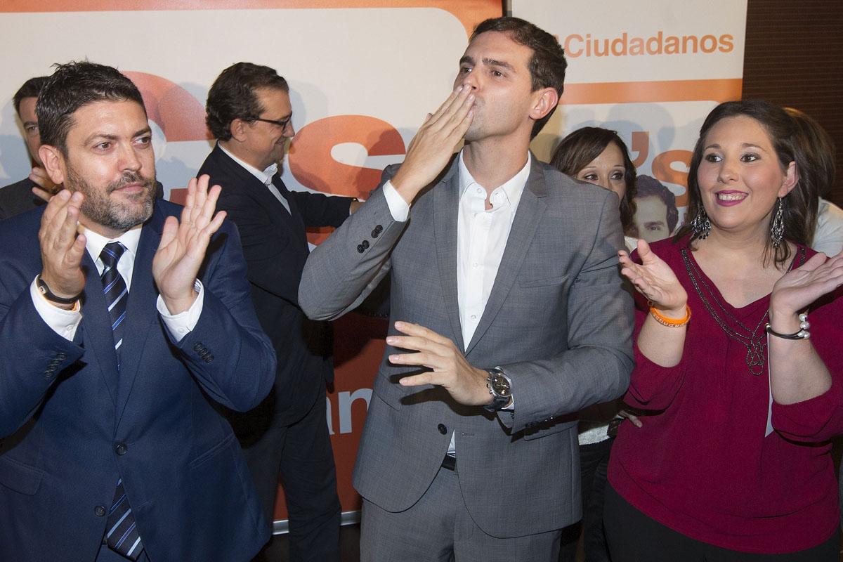 Albert Rivera en las pasadas elecciones catalanas. (Foto: EFE)