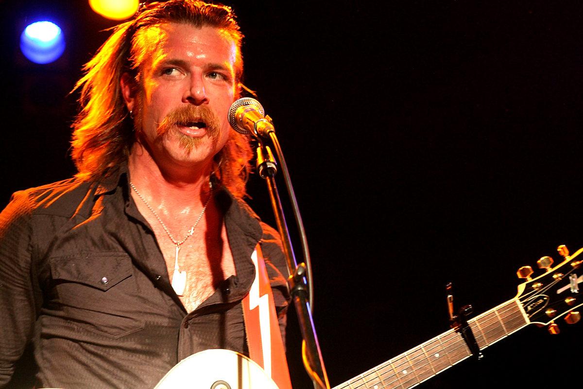 Jesse Hughes, líder de 'Eagles of Death Metal' (Foto: AFP)