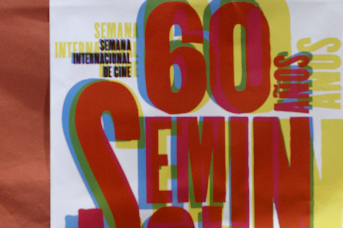 Cartel del festival de Cine de la Seminci (Foto: Efe)