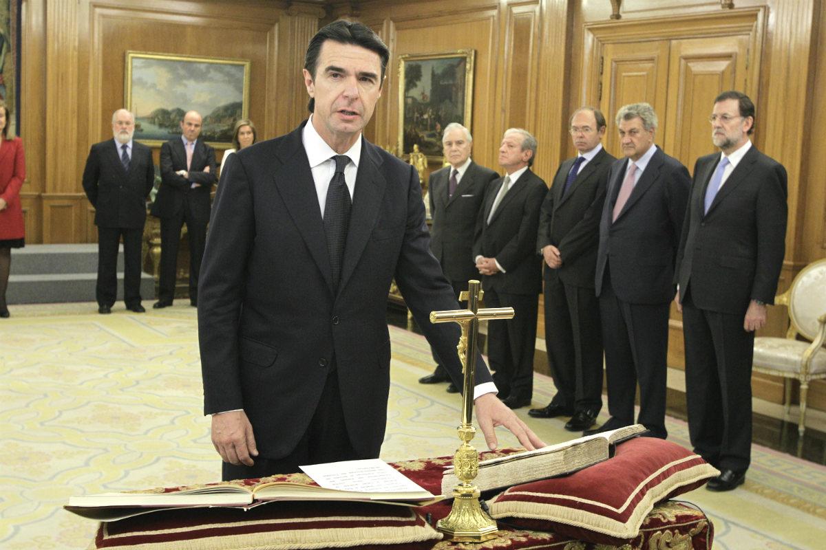 El ministro de Industria, Energía y Turismo José Manuel Soria