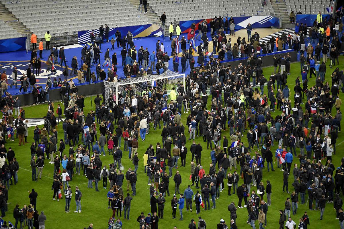 El Stade de France fue uno de los puntos de ataque (AFP)