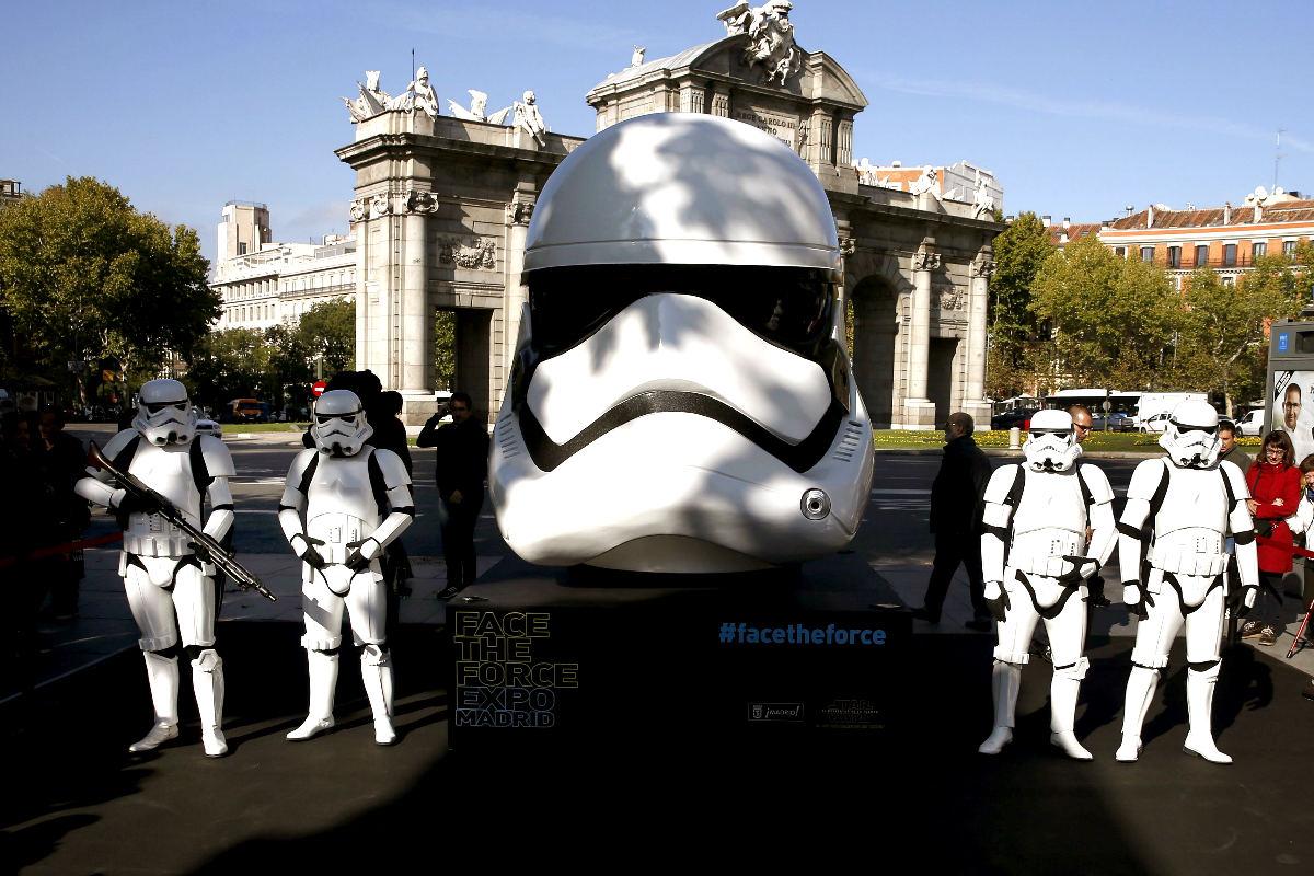 Réplicas de la famosa saga Star Wars (Foto: Efe)